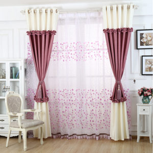 2015-Hot-Sale-Pure-Color-Modern-Brief-Girls-Lovely-Blind-Shade-Half-Blackout-Curtains-For-Living